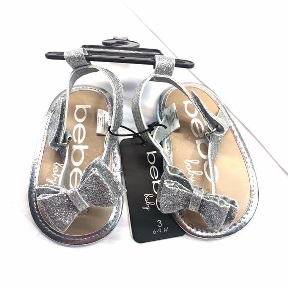 bebe Shoes | Bebe Baby Sparkle Sandals